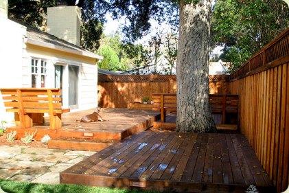 heritage oak with decks